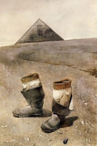 Andrew Wyeth - Sea Boots 1976
